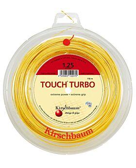 Bobine Cordage Kirschbaum Touch Turbo 110m 1,25mm jaune