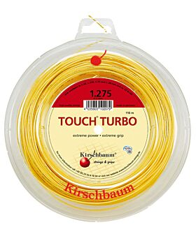 Bobine Cordage Kirschbaum Touch Turbo 110m 1,275mm jaune