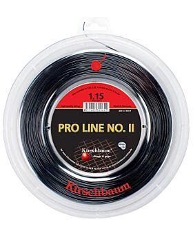 Bobine Cordage Kirschbaum Pro Line 2 200m 1,15mm noir