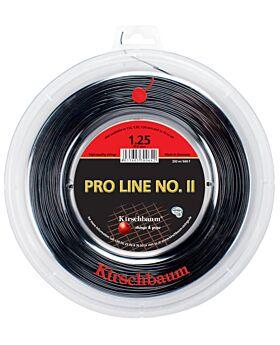 Bobine Cordage Kirschbaum Pro Line 2 200m 1,25mm noir