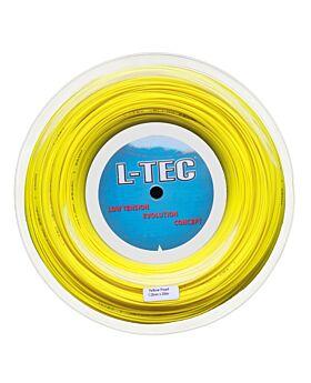 Bobine Cordage Ltec Pearl 200m 1,25mm jaune fluo