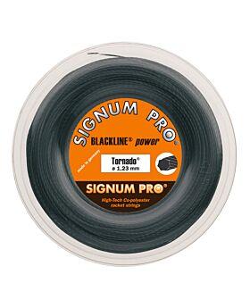 Bobine Cordage Signum Pro Tornado 200m 1,23mm noir
