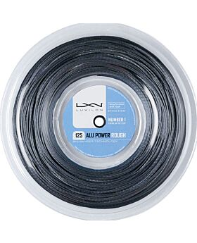 Bobine Cordage Tennis Luxilon Big Banger Alu Power Rough 200m argenté
