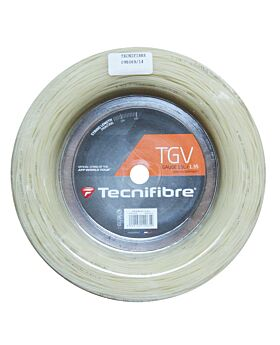Bobine Cordage Tennis Tecnifibre TGV jauge 1,35mm 200m naturel
