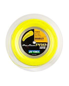 Bobine Cordage Tennis Yonex Poly Tour Pro 200m 1,25mm jaune