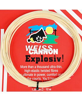 Cordage Explosiv! Weiss Cannon jauge 1,30mm 12m naturel