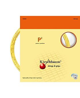 Cordage P2 Kirschbaum jauge 1,30mm 12m jaune
