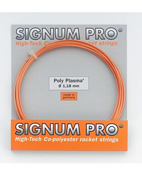 Cordage Poly Plasma Signum Pro jauge 1,18mm 12m orange