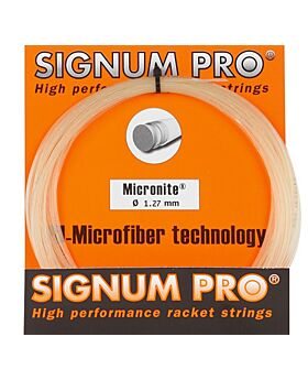 Cordage Micronite Signum Pro jauge 1,27mm 12m naturel