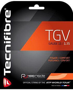 Cordage Tennis Tecnifibre TGV jauge 1,35mm 12m naturel