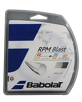 Cordage Tennis Babolat RPM Blast jauge 1,25mm 12m noir