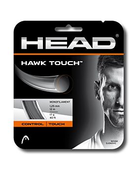 Cordage Tennis Head Hawk Touch jauge 1,25mm 12m gris