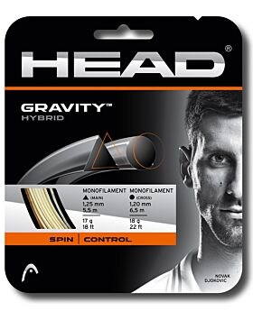 Cordage Tennis Head Gravity jauge 1,25mm 1,20mm 12m