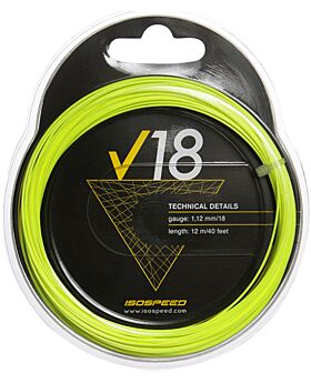 Cordage Tennis Isospeed V18 jauge 1