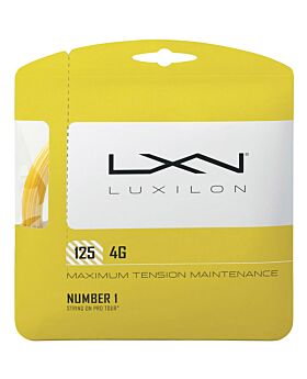 Cordage Tennis Luxilon Big Banger Alu Power jauge 1