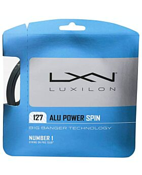 Cordage Tennis Luxilon Big Banger Alu Power Rough 12m argenté