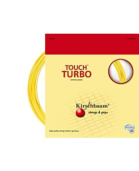 Cordage Touch Turbo Kirschbaum jauge 1,275mm 12m jaune