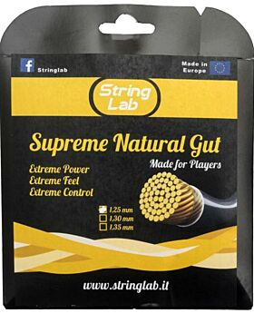 Cordage String Lab Supreme Natural Gut 1,30mm