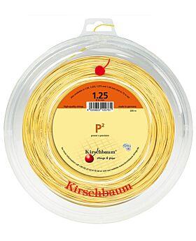 Bobine Cordage Kirschbaum P2 200m 1,25mm jaune