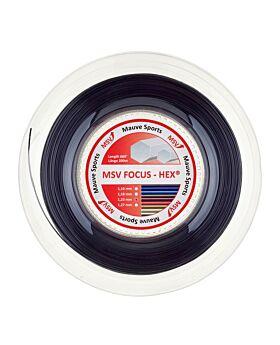 Bobine Cordage MSV Focus Hex 200m 1,23mm noir