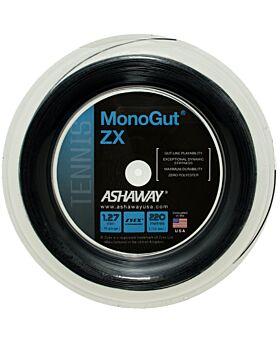 Bobine Cordage Tennis Ashaway Monogut Zx 1,27mm 220m noir