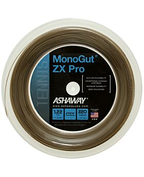 Bobine Cordage Tennis Ashaway Monogut Zx Pro 1,22mm 220m naturel