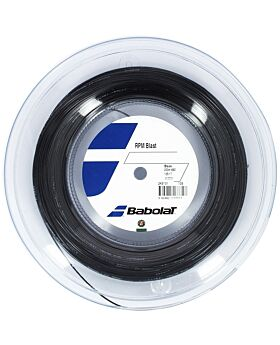 Bobine Cordage Tennis Babolat RPM Blast jauge 1,25mm 200m noir