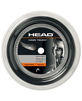 Bobine Cordage Tennis Head Hawk Touch jauge 1,20mm 120m gris