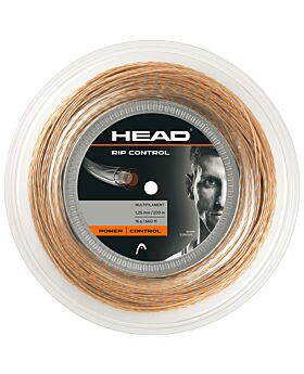 Bobine Cordage Tennis Head Rip Control jauge 1,25mm 200m