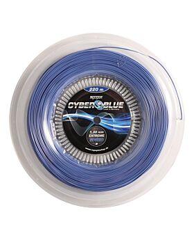 Bobine Cordage Tennis Topspin Cyber Blue jauge 1,30mm 12m bleu
