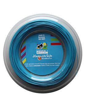 Bobine Cordage Weiss Cannon Mosquito Bite 200m 1,19mm bleu