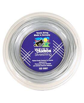Bobine Cordage WeissCannon Silverstring 200m 1,20mm argenté