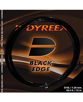 Cordage Dyreex Black Edge jauge 1,25mm 12m noir