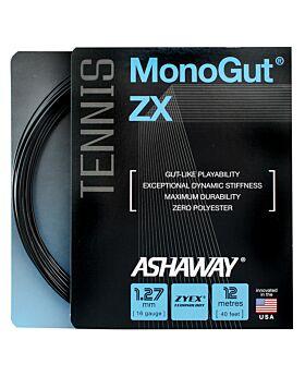 Cordage Tennis Ashaway Monogut Zx 1,27mm 12m noir