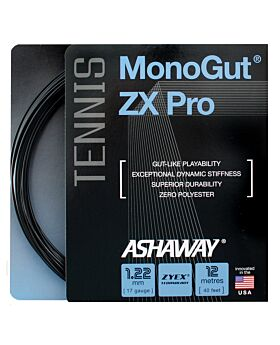 Cordage Tennis Ashaway Monogut Zx Pro 1,22mm 12m noir