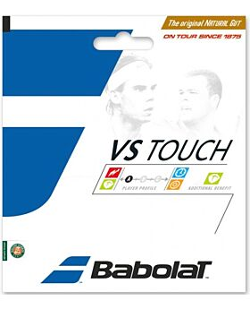 Cordage Tennis Babolat VS Touch en boyau naturel jauge 1,35mm