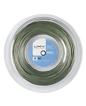 Bobine Cordage Tennis Luxilon Big Banger Alu Power Ace 200m doré