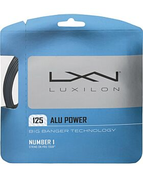 Cordage Tennis Luxilon Big Banger Alu Power jauge 1,25mm 12m argenté
