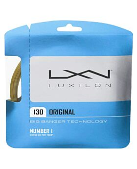 Cordage Tennis Luxilon Big Banger Alu Power Spin 12m argenté