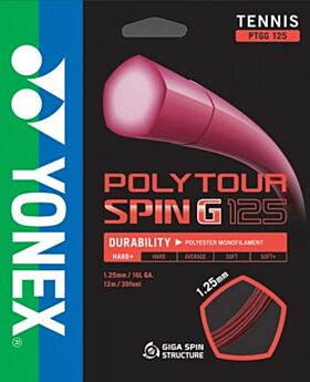 Cordage Tennis Yonex PolyTour Spin jauge 1