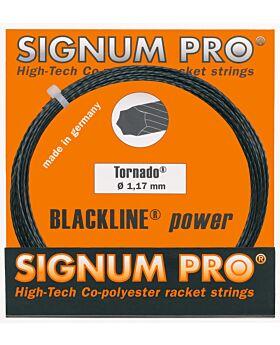 Cordage Tornado Signum Pro jauge 1,17mm 12m noir