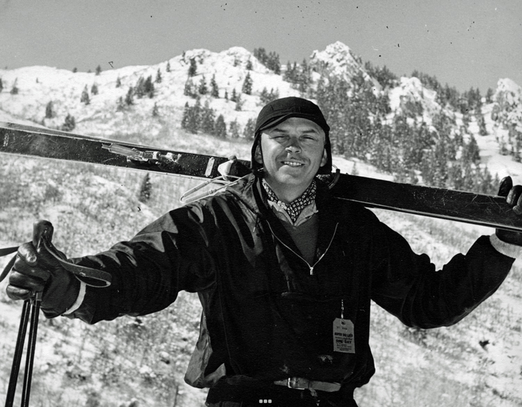 Howard Head au Ski