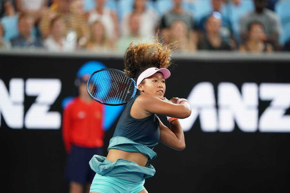 Naomi Osaka et son poly tour strike