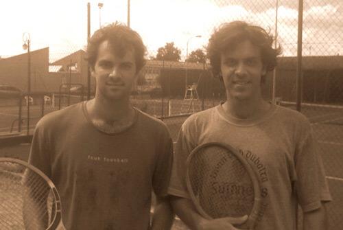 Ludovic (gauche) et Thomas (droite) Renoult, créateurs de la boutique de cordage