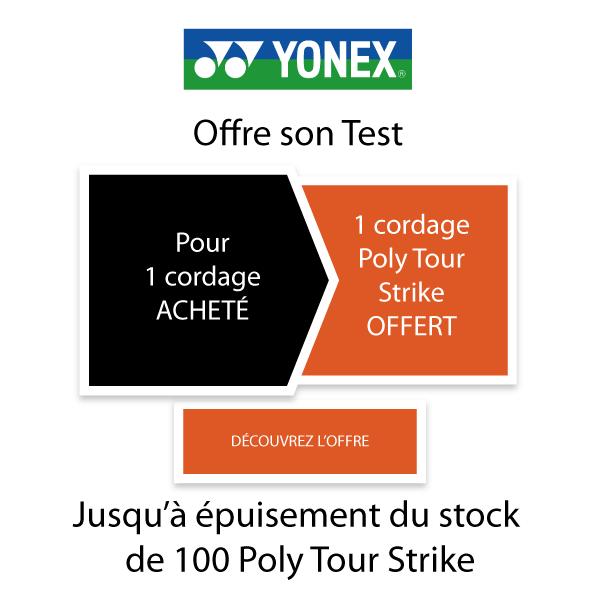Opération Yonex Poly Tour Strike