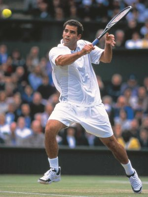 Pete Sampras la légende et son grip Tourna